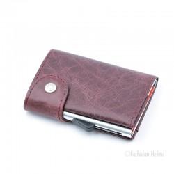C-Secure turvalompakko Single Wallet, bordeaux