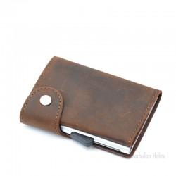 C-Secure turvalompakko Single Wallet, buffalo