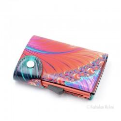 C-Secure turvalompakko Print Wallet, shell
