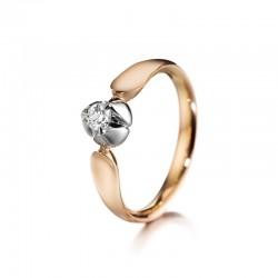 Lumoava Wedding Kullannuppu timanttisormus / 7265 30